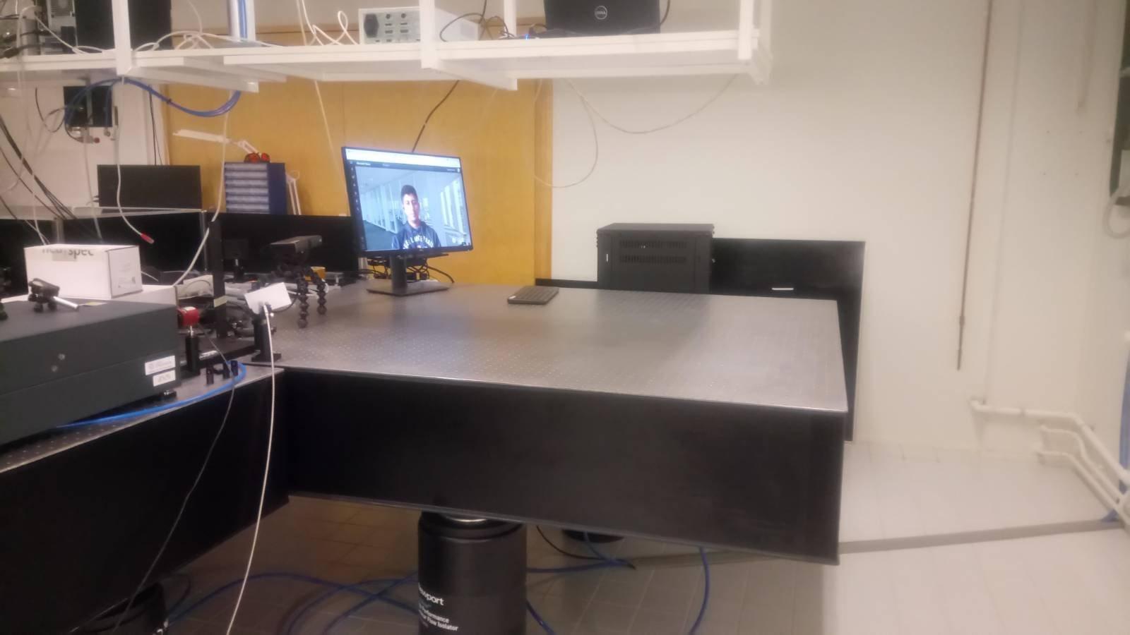 Remote installation of SNOM instrument has begun in Jyväskylä